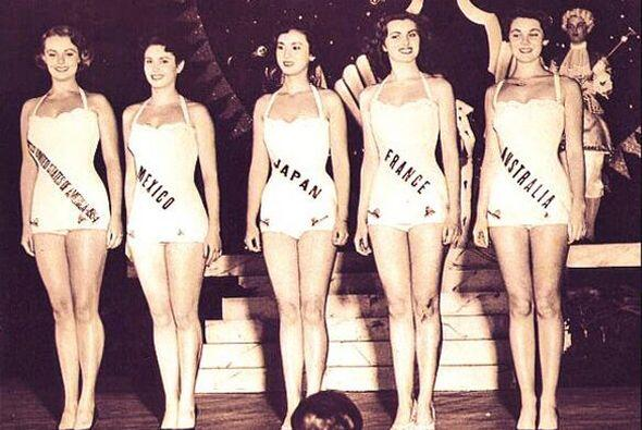 Ella fue la primer mexicana en ser finalista de Miss Universo.