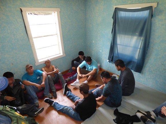 Inmigrantes rescatados en Texas