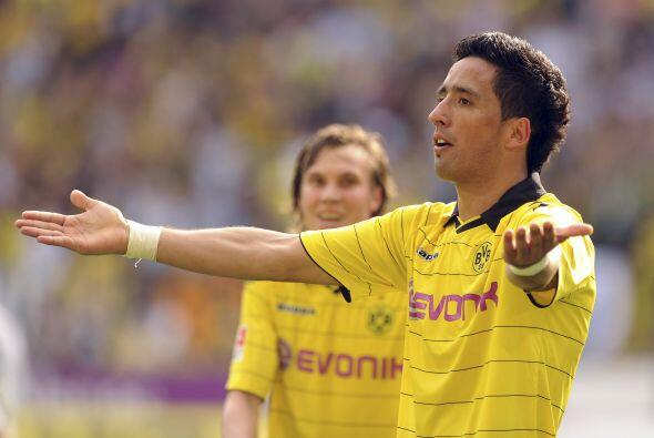 Le marcó dos tantos al Eintracht Frankfurt y su club ganó por 3-1.