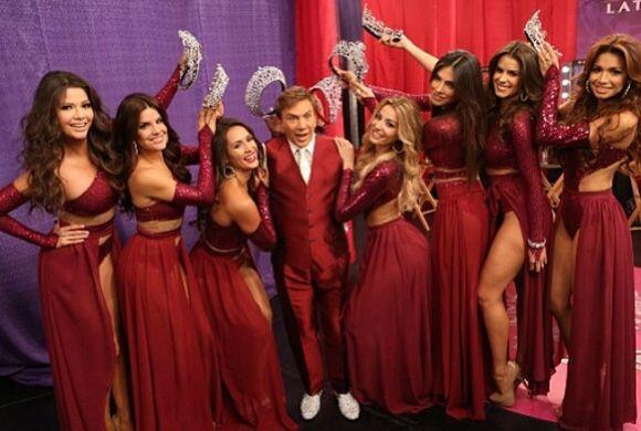 """""""Solo minutos para comenzar la gran final de @NuestraBellezaLatina, ¡por..."""
