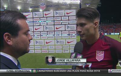 Jorge Villafaña quiere dejar atrás el empate ante Venezuela y enfocarse...