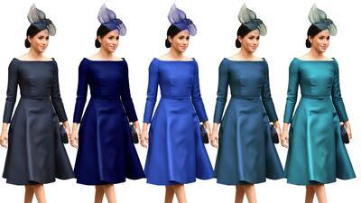 ¿Eres capaz de diferenciar estos cinco tipos de azul?