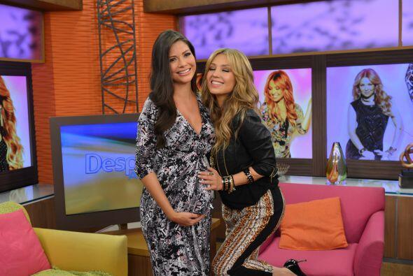 Giulietta y Ana se tomaron la foto del recuerdo con Thalía y hasta lució...