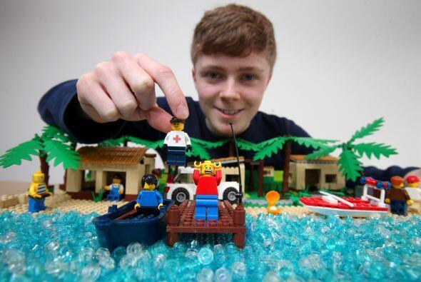 Las piezas de Lego han sido utilizadas para construir cualquier cosa, de...