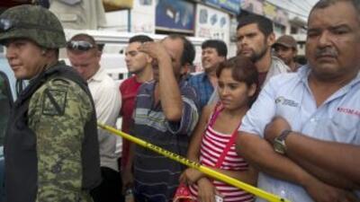 La violencia no ha cesado en México.