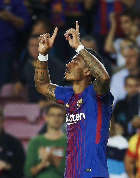 Faena de Messi en la goleada 6-1 del Barcelona sobre Eibar 6364145825042...