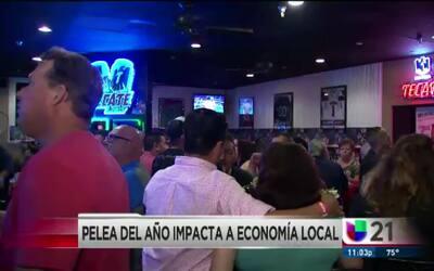 Pelea del año impacta a economía local