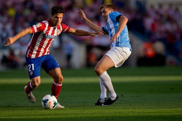 La media cancha del Atlético de Madrid vio la partida de Diego Ribas al...