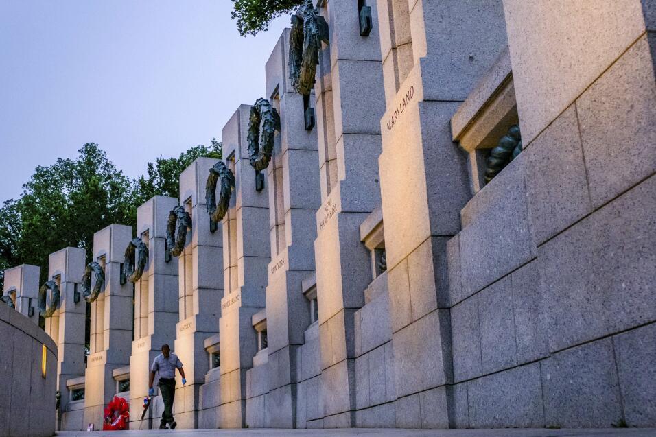 Monumento de la Segunda Guerra Mundial en Washington, DC