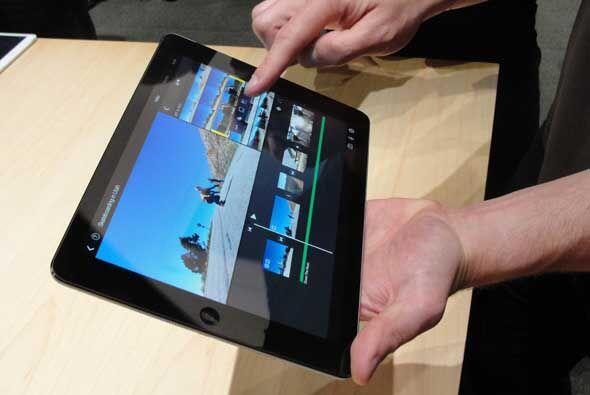 El iPad Air es la versión más delgada y ligera de la tablet de Apple. De...