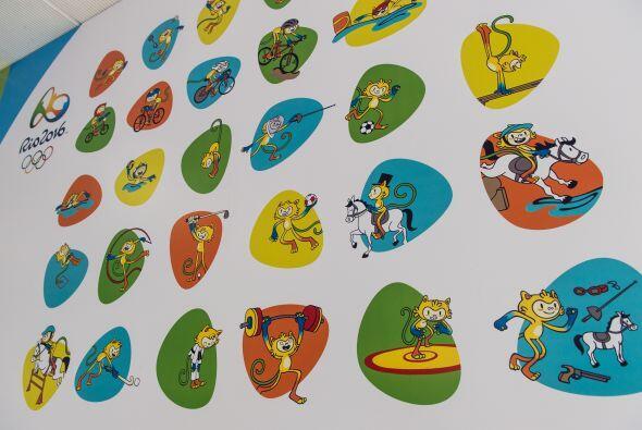 Estos serán los logos deportivos de los Juegos de Río que también fueron...