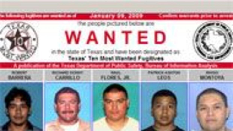 Publican las lista de los 10 criminales más buscados en Texas a54aac97ba...