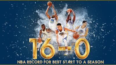 El único equipo en lograrlo en la historia de la NBA.