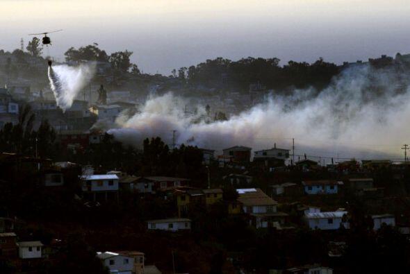 El fuego ha arrasado 850 hectáreas.