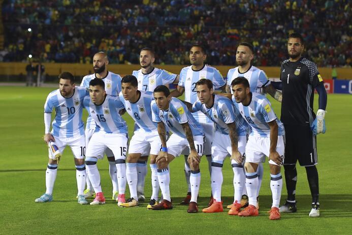 7. Argentina (Conmebol) - 7,839,967 seguidores