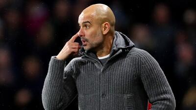 """Guardiola comentó que los que se """"durmieron"""" en Champions resultaron en la Europa League"""