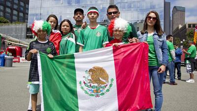 Así se vivió el partido entre México y Paraguay