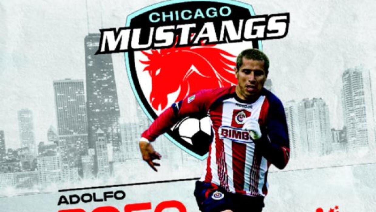 Adolfo Bautista jugará en el Chicago Mustangs.