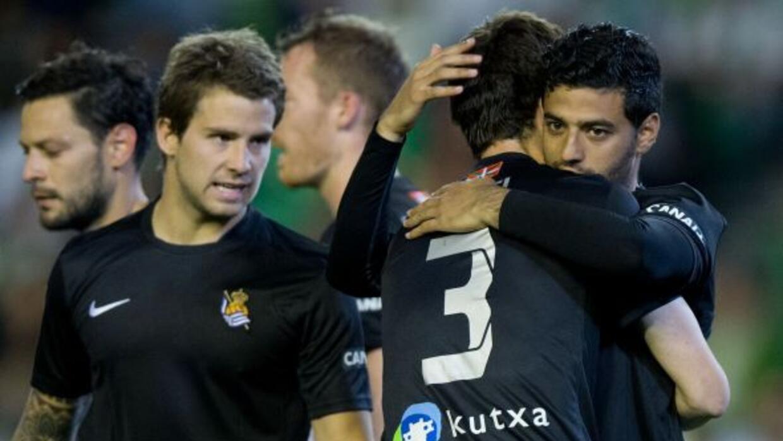 Vela llegó a 15 goles en la presente campaña española, pero los vascos n...