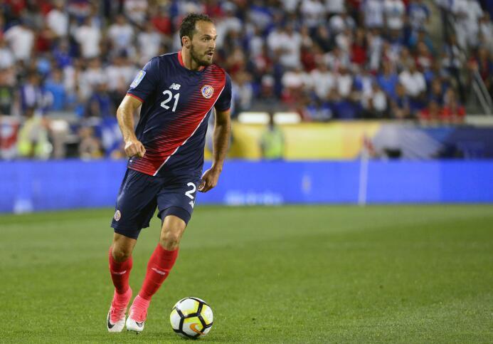 Marco Ureña (Costa Rica): un gol