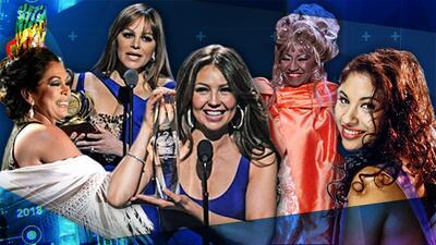 Las mujeres arriba: Premio Lo Nuestro ha reconocido al máximo talento femenino