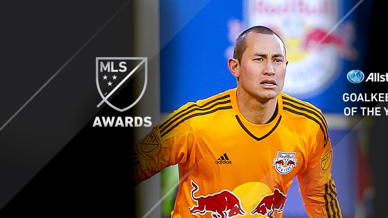 Luis Robles, portero del año de la MLS