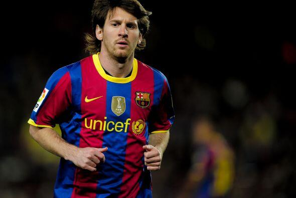 El Ceuta logró el descuento pero Lionel Messi, quien entró de cambio, pu...
