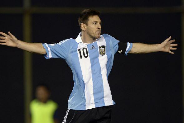 Con Argentina, 'La Pulga' consiguió la calificación en la...
