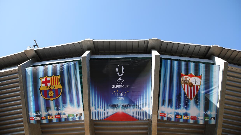 Barcelona vs. Sevilla Supercopa Previa