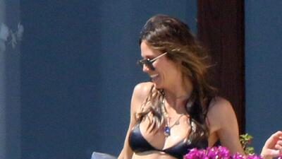 Paparazzi: en la playa en México, la supermodelo Heidi Klum disfruta con su novio nuevo