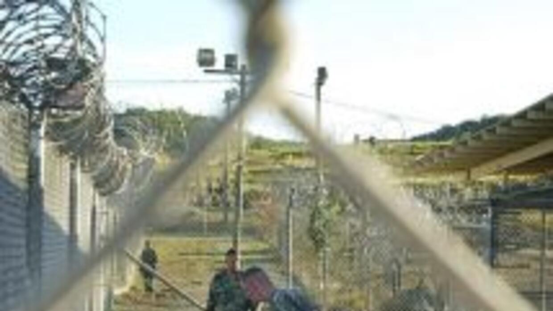 La prisión de Guantánamo.