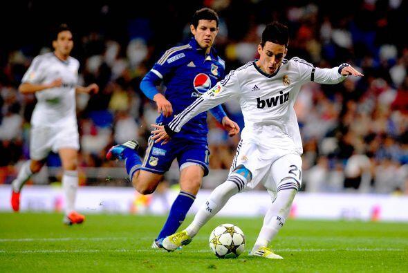 Un canterano hizo el segundo tanto para el Madrid, José María Callejón.