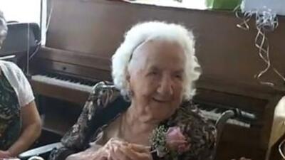 La mexicana Soledad Mexia murió a los 114 años. (Imagen de archivo de vi...