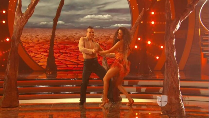 Ana Patricia en Mira Quién Baila