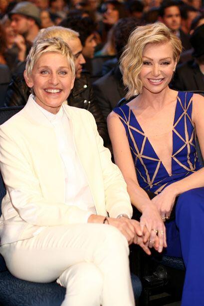 Ellen DeGeneres y su esposa, la actriz Portia de Rossi.