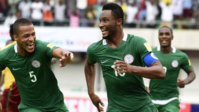 Nigeria, primera selección africana en Rusia 2018