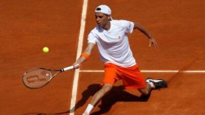 El encuentro a cinco sets fue dominado en su mayor parte por el español...