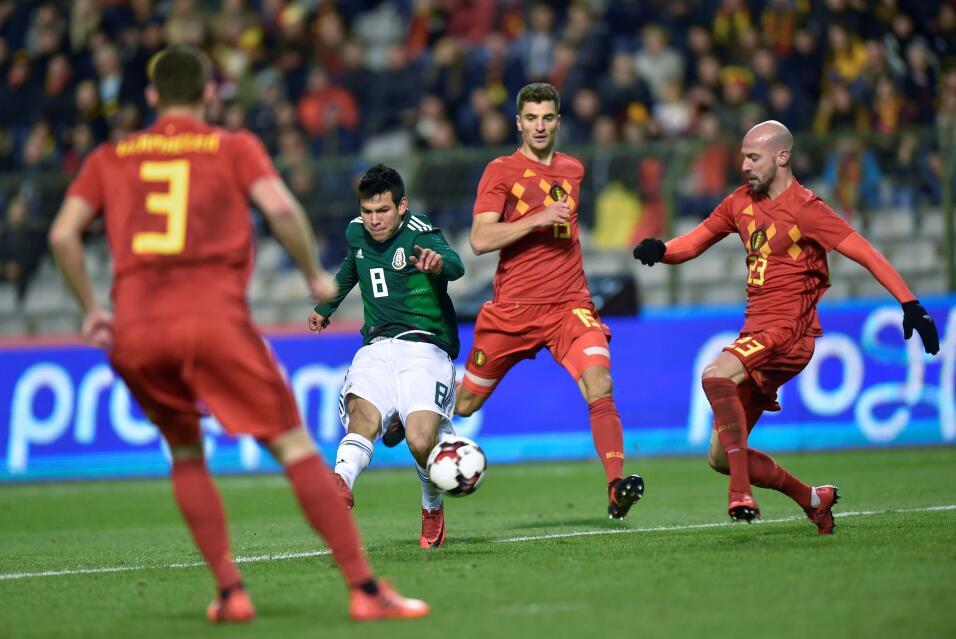 Con la magia del 'Chucky', el Tri rescató gran empate en Bélgica gettyim...