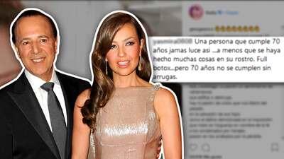 Thalía celebró el cumpleaños de su marido en redes... y no resultó como esperaba
