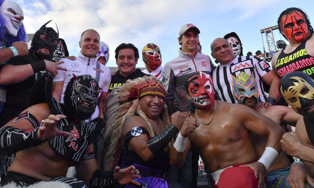 La F-1 vive ya el Día de los Muertos en el GP de México GettyImages-6186...
