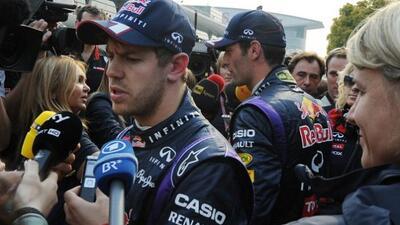 Sebastian Vettel confesó resentimientos contra Mark Webber.