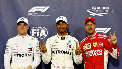 Hamilton cerrará la temporada de su quinto título partiendo primero en Abu Dabi