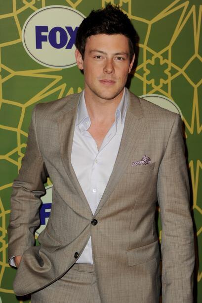 """El protagonista de la serie """"Glee"""", Cory Monteith, perdió la vida  el 13..."""