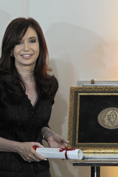 Cristina Fernández de Kircher quien es mandataria presidencial desde 200...