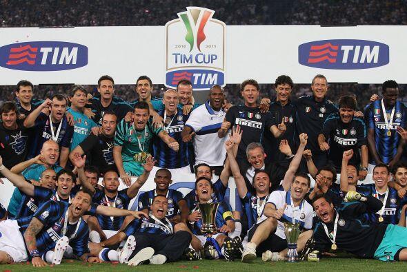 De este modo, el Inter de Milán es el campeón de la Coppa Italia 2011.