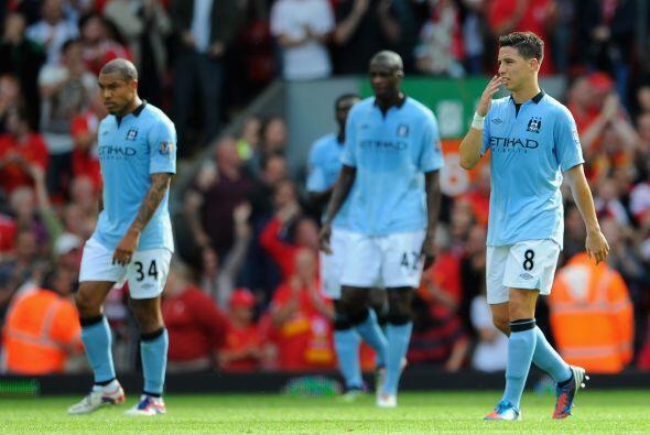 El City no encontraba explicaciones al verse abajo en el partido.