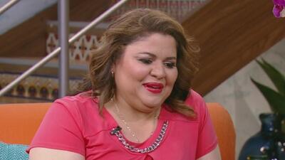 El conmovedor mensaje de Olivia Calderón de 'La Reina de la Canción' a l...