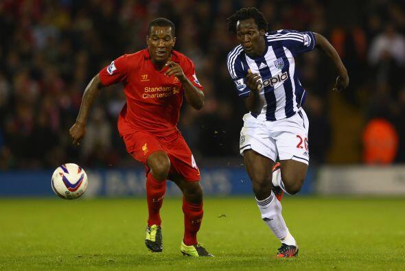 En otros duelos destacados, el Liverpool se jugaba su pase en la casa de...