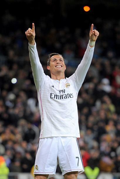 Cristiano Ronaldo concluyó un 2014 inolvidable marcando 25 goles...