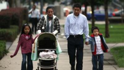 Los hijos de los migrantes mexicanos, que nacieron en Estados Unidos, ti...